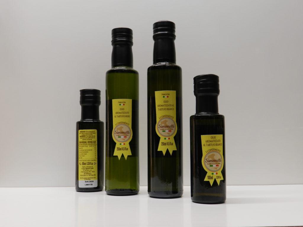 Olio al tartufo | Simonetti Tartufi |